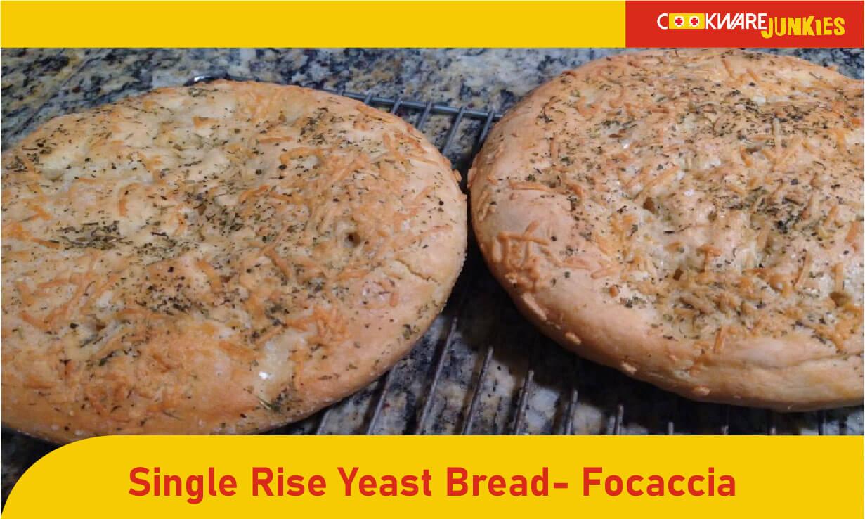Single rise yeast bread- Focaccia featured image