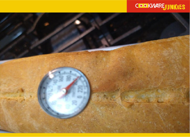 Long Loaf of Whole Wheat recipe loaf temperature