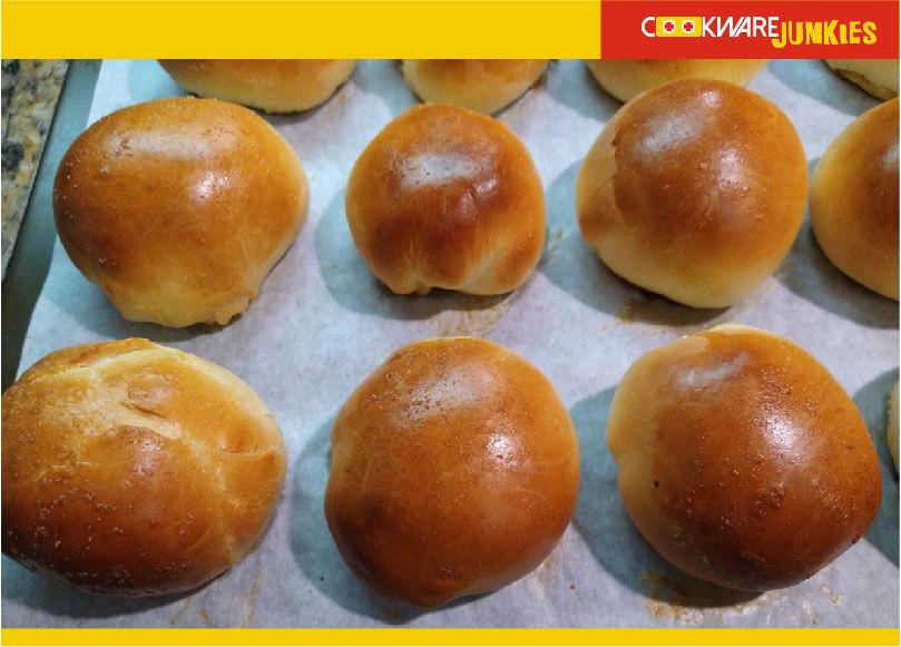 fresh baked boa from Char Siu Bao Recipe