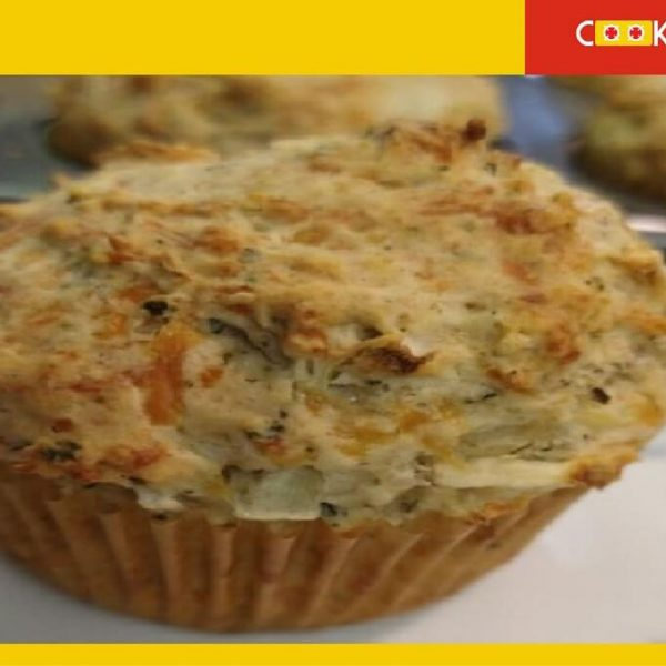 Savory Muffin baked 2