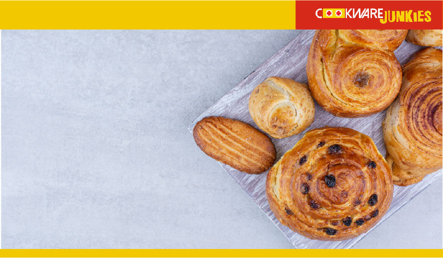 cooked bakery items