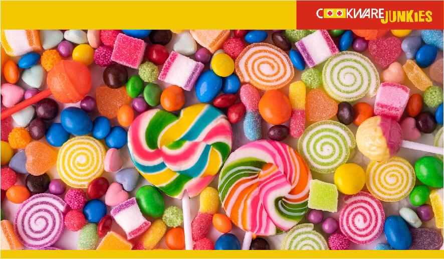 different candies