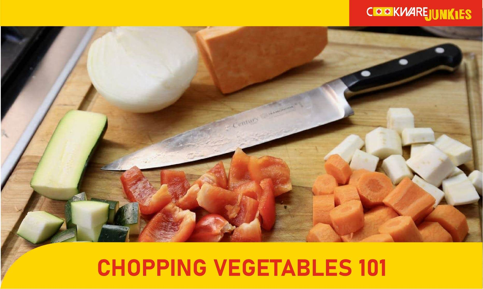 featured image for Chopping Vegetables 101