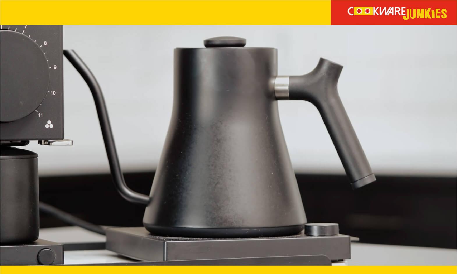 Matte Black fellow Stagg kettle
