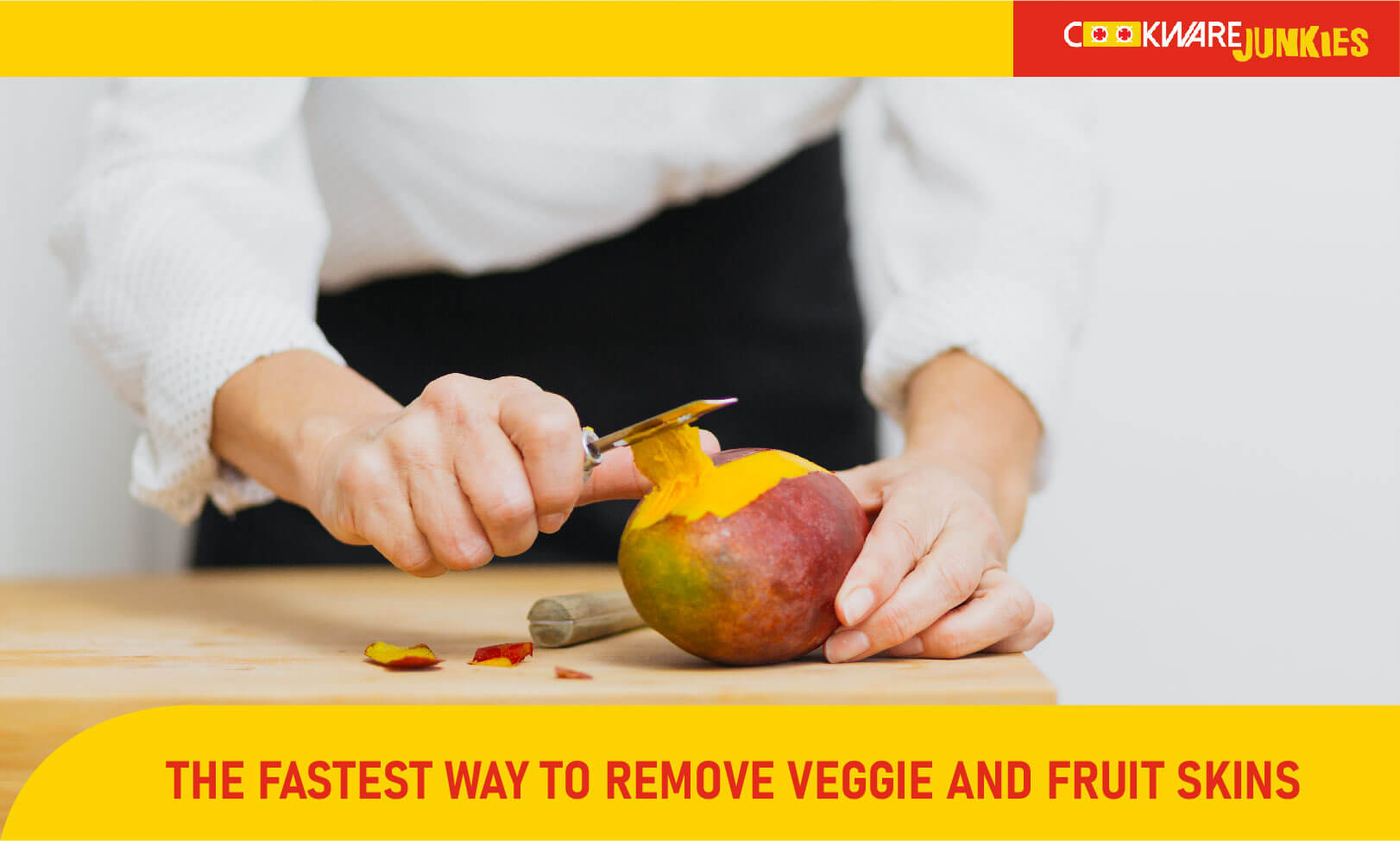 The fastest way to remove veggie and fruit skins Featured image