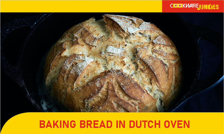 Baking bread In dutch Oven Featured image