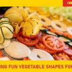 Cutting fun vegetable shapes for kids Featured image