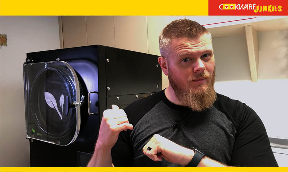Man describe Pros and Cons of freeze dryer