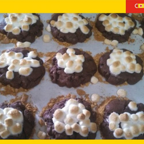 Ultimate S'mores Cookie recipe