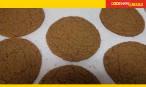 Baked Chewy Molasses Cookies